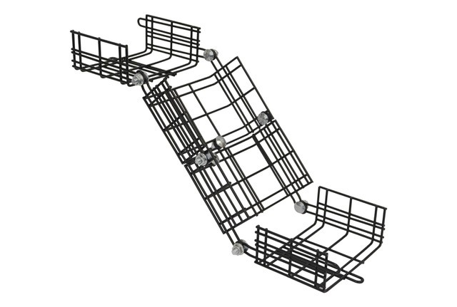 elevation change cable tray